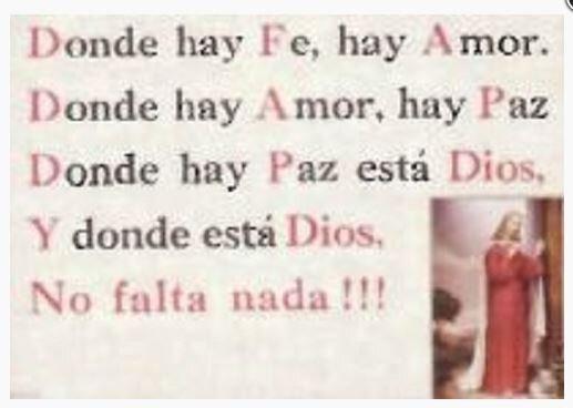 Print Dios Es Paz