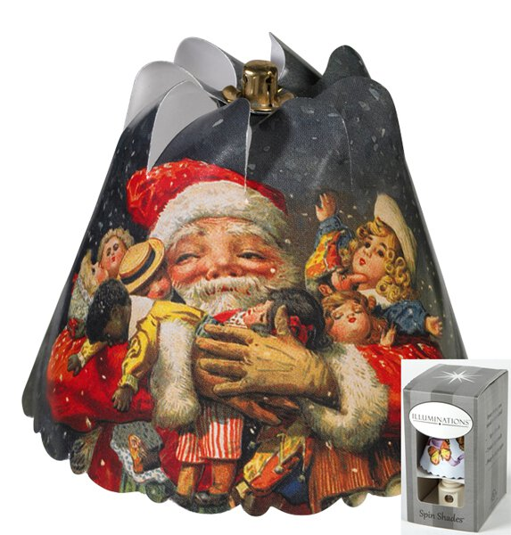 Toy Santa Night Light Gift Box