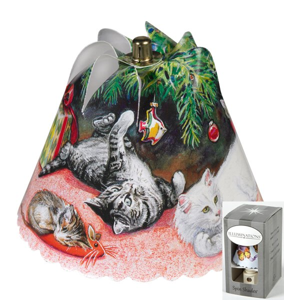 Christmas Cats Night Light Gift Box