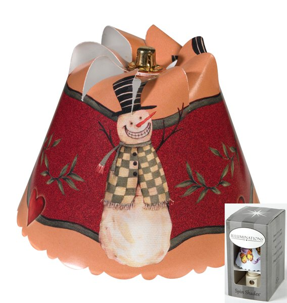 Country Snowman Night Light Gift Box