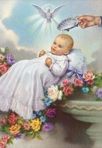 Print Baptismal - Boy