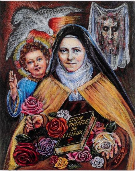 Print Saint Therese
