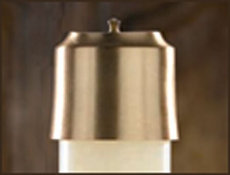 Lumen Deo Brass Follower - Satin Finish