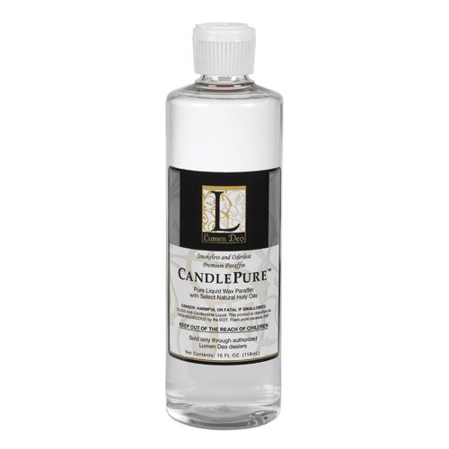 CandlePure™ Paraffin Oil - 16 oz Bottle - 4/cs