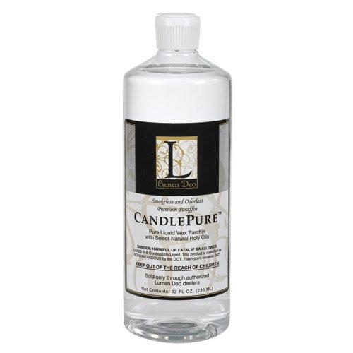 CandlePure™ Paraffin Oil - 1 Quart Bottle - 12/cs