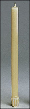 Beeswax Candle - 24/pk