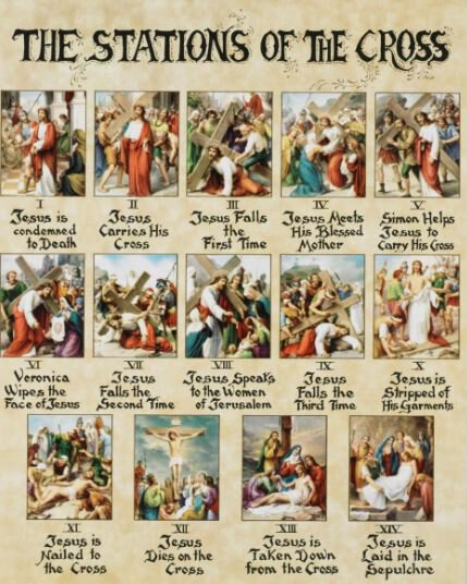 Print Stations Of The Cross