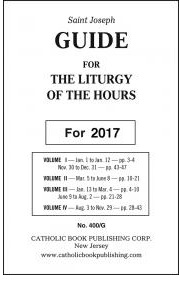Liturgy of the Hours Annual Guide 2017 Large Print