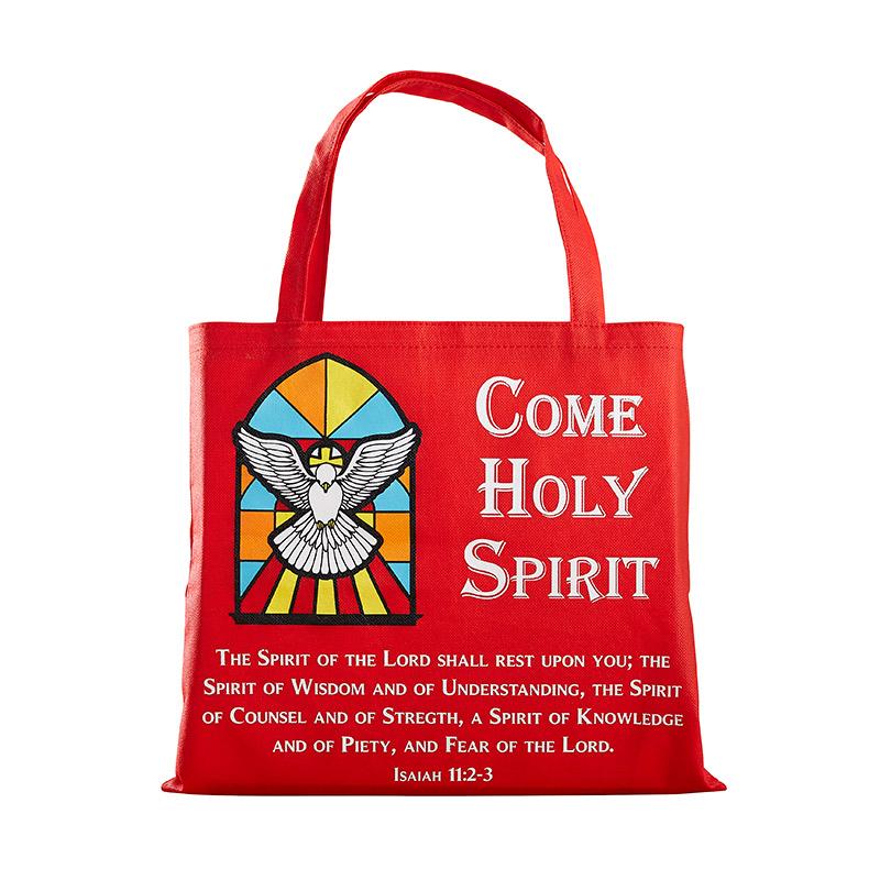 Come Holy Spirit Tote Bag - 12/pk