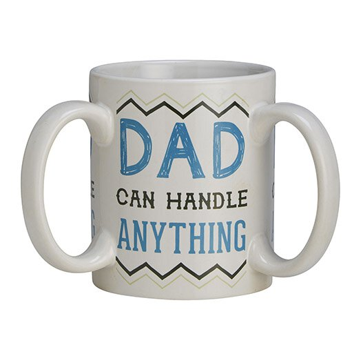 Get A Grip Dad 3 Handle Mug