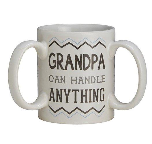 Get A Grip Grandpa 3 Handle Mug