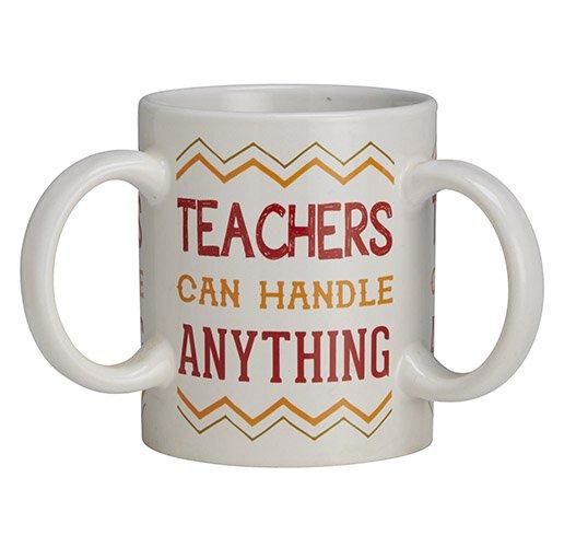 Get A Grip Teacher 3 Handle Mug