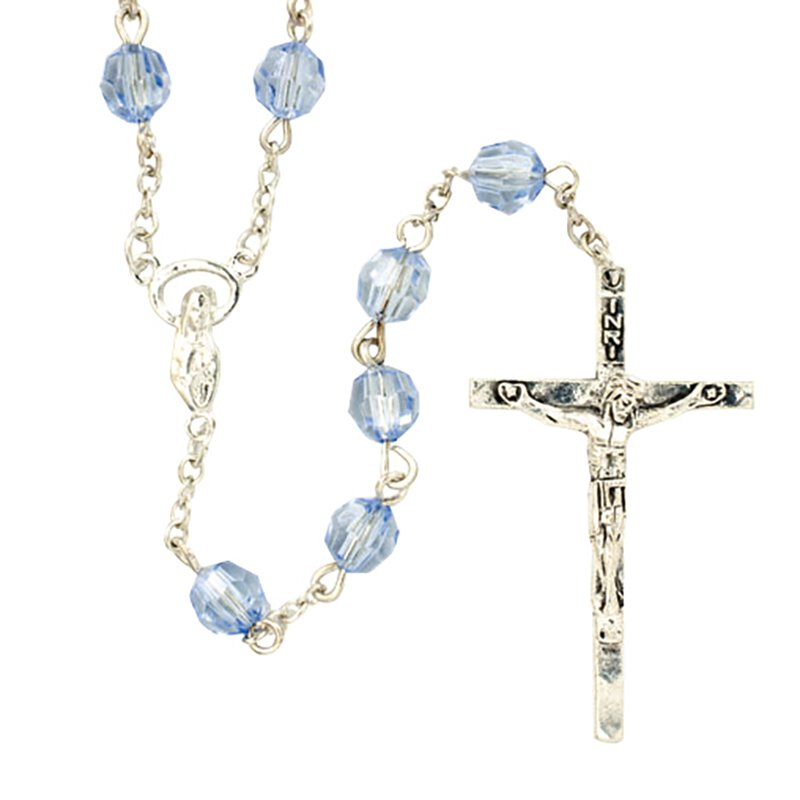Miraculous Sapphire Rosary