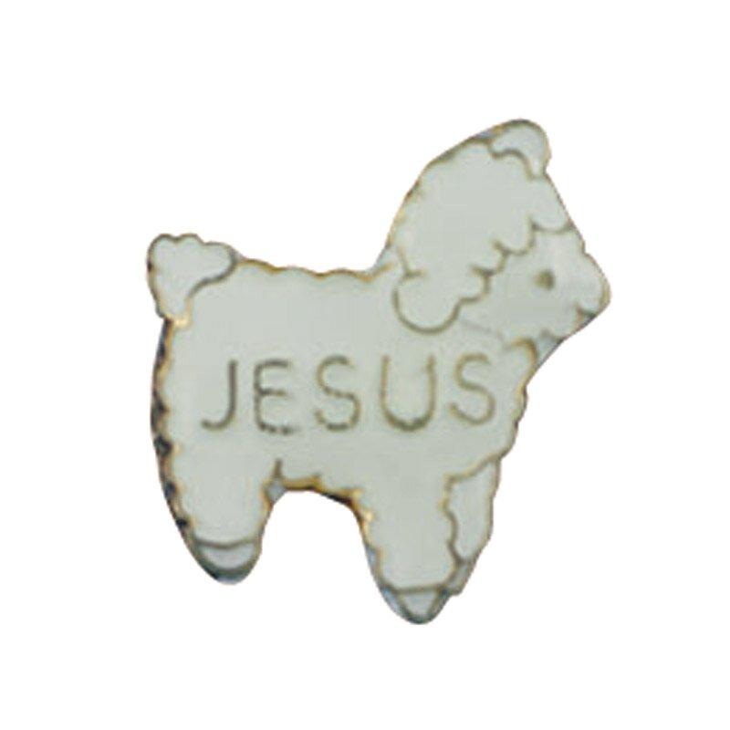 Jesus Lamb Lapel Pin - 25/pk