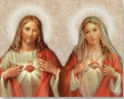 Print The Sacred Hearts