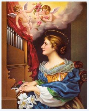 Print Saint Cecilia