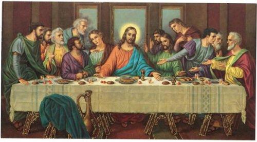 Print  Abendmahl: Last Supper