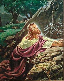 Print Sallman: Christ in Gethsemane