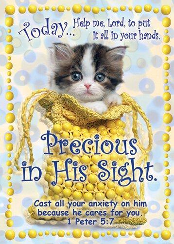 Verse Cards Precious in His Sight