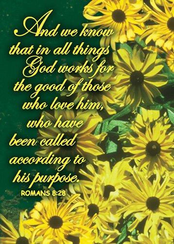 Verse Cards Romans 8:28