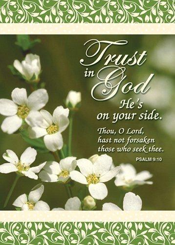 Verse Cards Trust in God