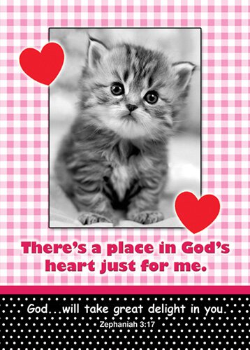 Verse Cards Place in God's Heart