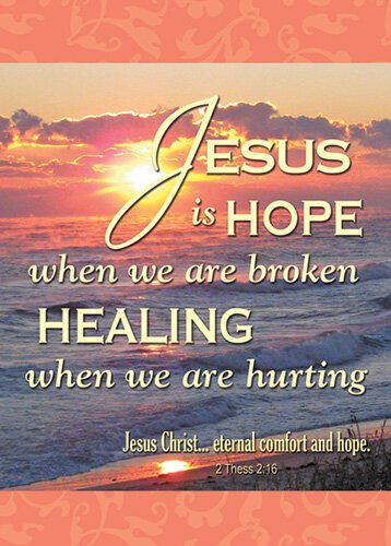Verse Cards Jesus is Hope