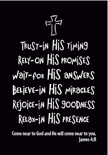 Pass It On: Trust His Timing