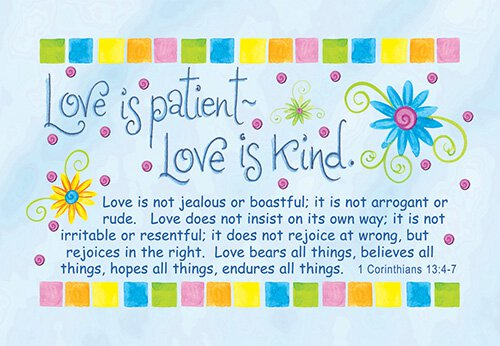 Pass It On: Love is Patient