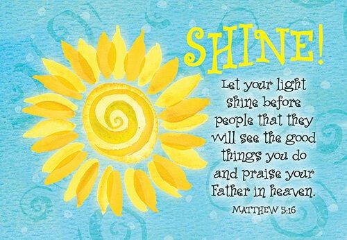 Pass It On: Shine