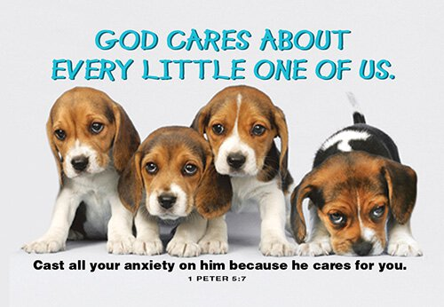 Pass It On: God Cares about Every Little One