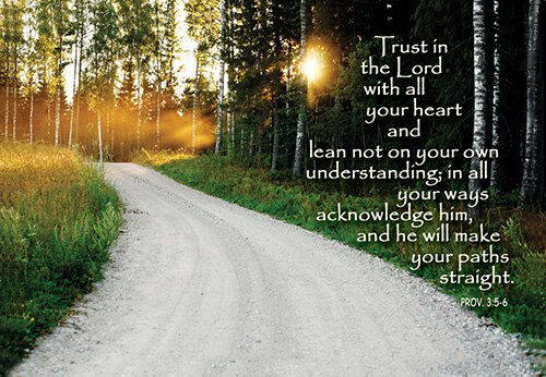 Pass It On: Trust in the Lord