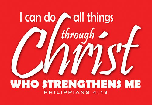 Pass It On: Can Do All Things
