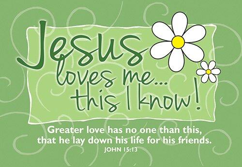 Pass It On: Jesus Loves Me