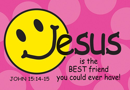 Pass It On: Jesus is the Best Friend