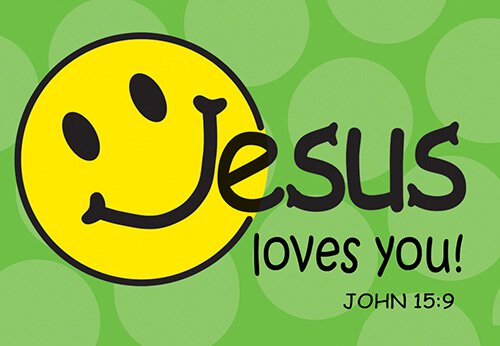 Pass It On: Jesus Loves You