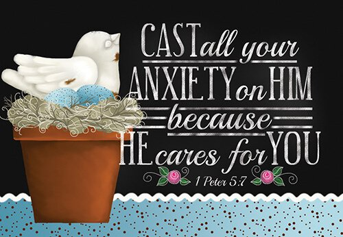 Pass It On: Cast Your Anxieties