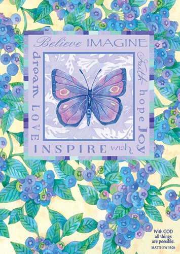 Large Poster Dream Believe Imagine