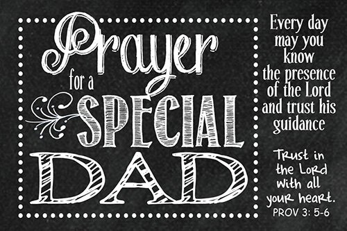 Pass It On: Prayer for a Special Dad