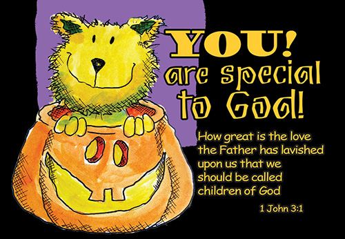 Pass It On: You Are Special to God