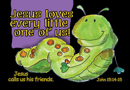 Pass It On: Jesus Loves Every Little One
