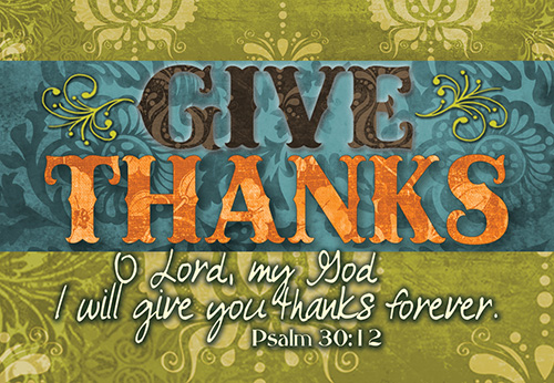 Pass It On: Give Thanks