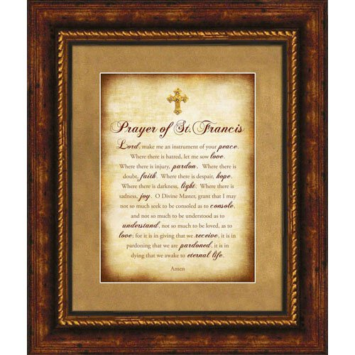 Prayer of St. Francis Wall Art