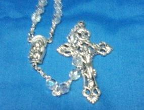 Rosary Crystal Aurora Borialis
