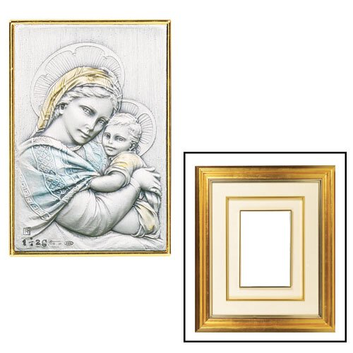 Madonna of the Chair Gold Frame