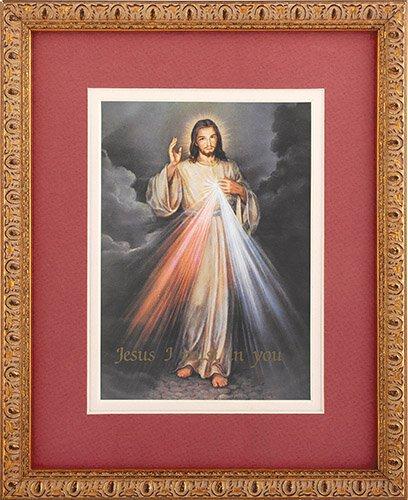 The Divine Mercy Framed