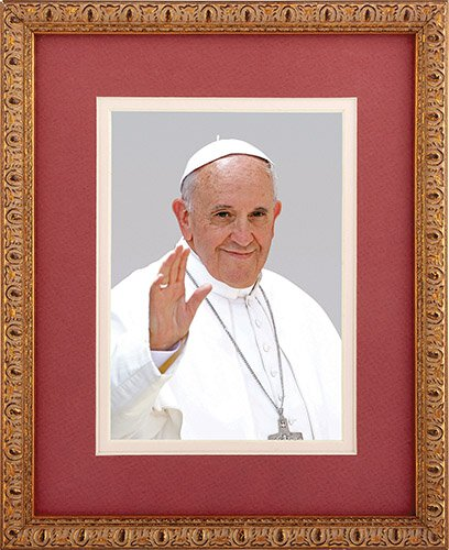 Pope Francis Framed