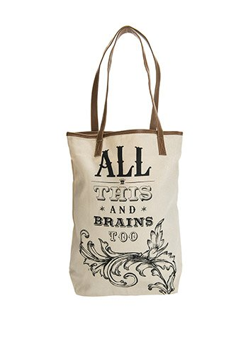 All This and Brains Too Classic Tote