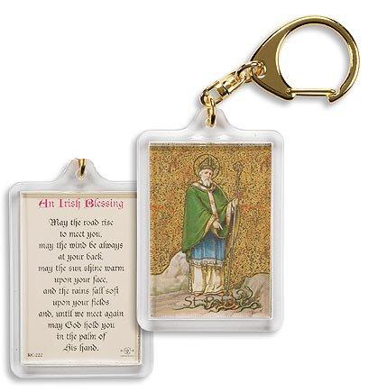 Saint Patrick/ Irish Blessing Key Chain