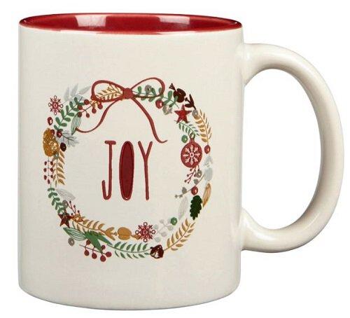 Vintage Christmas Mug - Joy